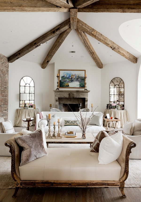 10 Amazing Rustic Living Rooms – Adorable Home