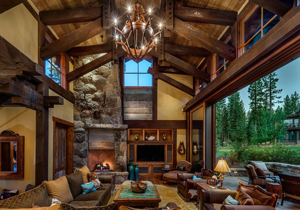 Rustic Wood Living Room Furniture Pemberton Solid Chunky