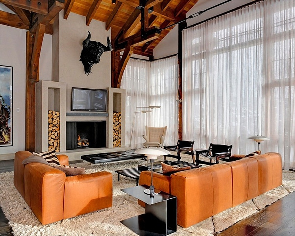 10 Amazing Rustic Living Rooms (3)