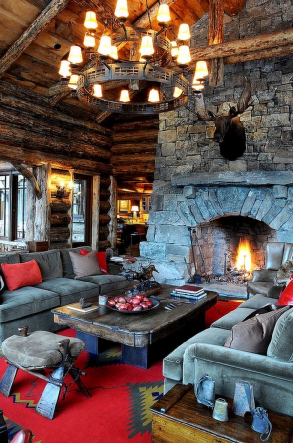 . 10 Amazing Rustic Living Rooms   Adorable Home
