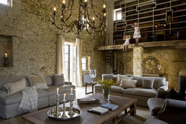 10 Amazing Rustic Living Rooms Adorable Home