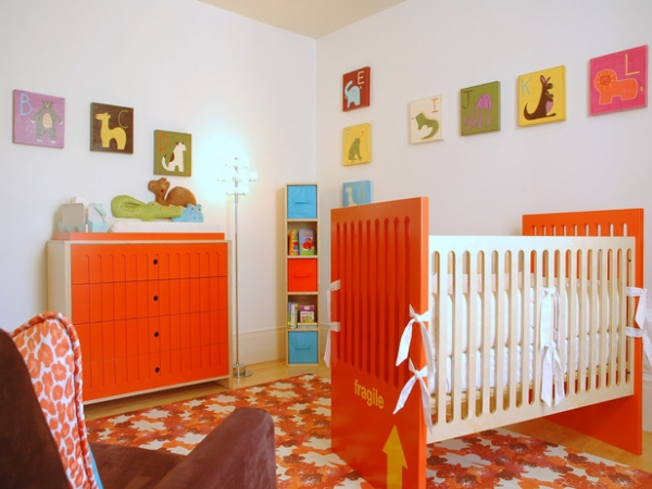 10 colorful nursery design ideas adorable home - Babies room decoration ...