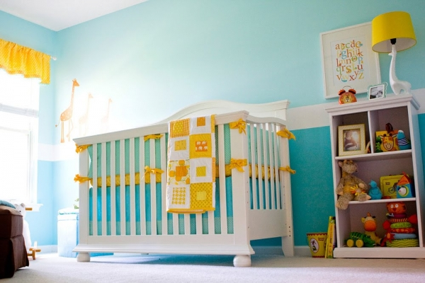 10 colorful nursery design ideas 2