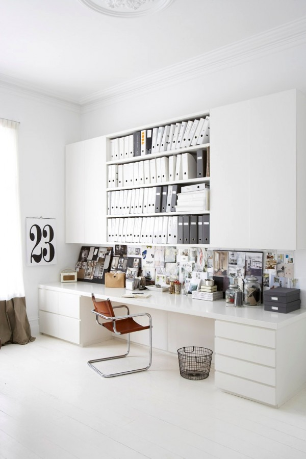 fresh home office design ideas perfect for your business  (10)