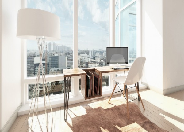 fresh home office design ideas perfect for your business  (3)