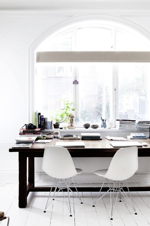 fresh home office design ideas perfect for your business (9)