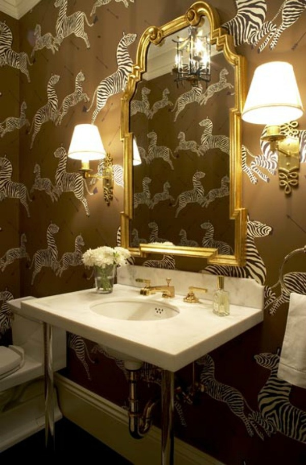 10 Gorgeous Looks For The Powder Room 8 Jpg