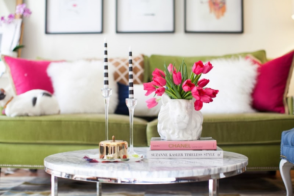 How To Style A Coffee Table 5 tips on how to style a coffee table – adorable home