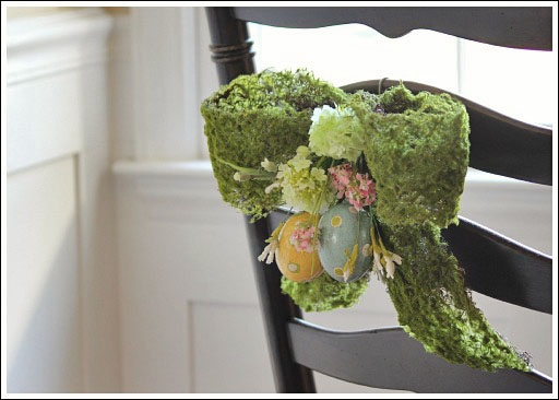 7 ways to decorate with a spring wreath (4)