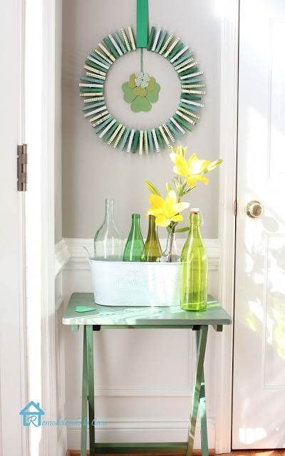 7 ways to decorate with a spring wreath (5)
