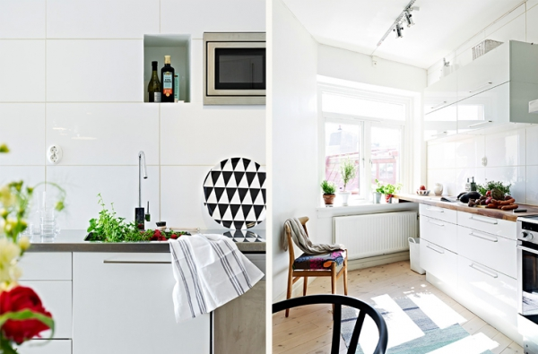 A beautiful white apartment made in heaven (2)