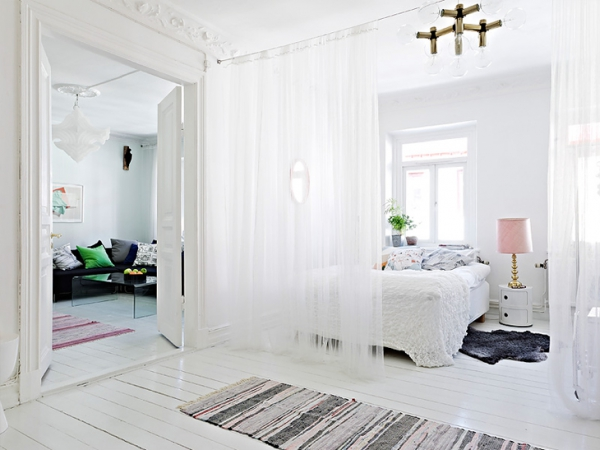 A beautiful white apartment made in heaven (3)