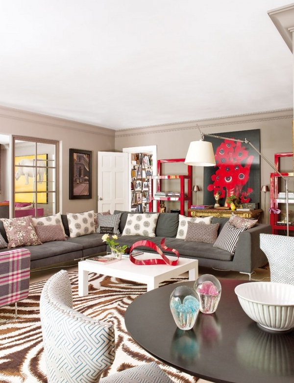A Bold Madrid Apartment Adorable Home
