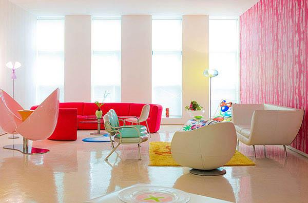 Colorful interior in nyc 8