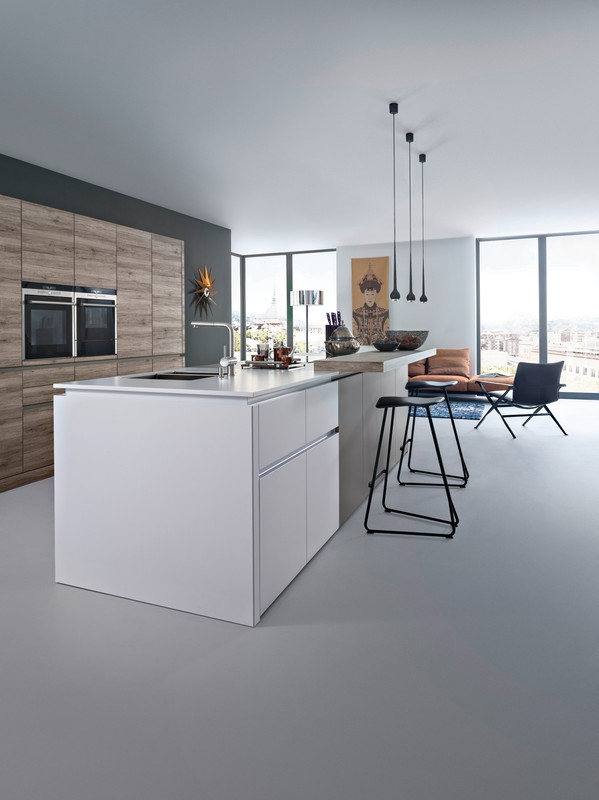 contemporary kitchen with a twist  (2)