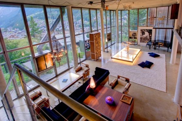 loft style chalet (2)