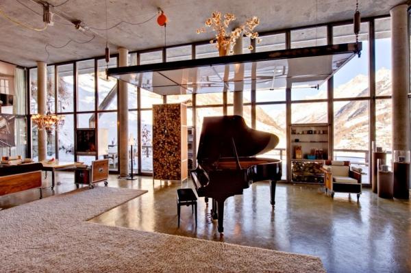loft style chalet (9)