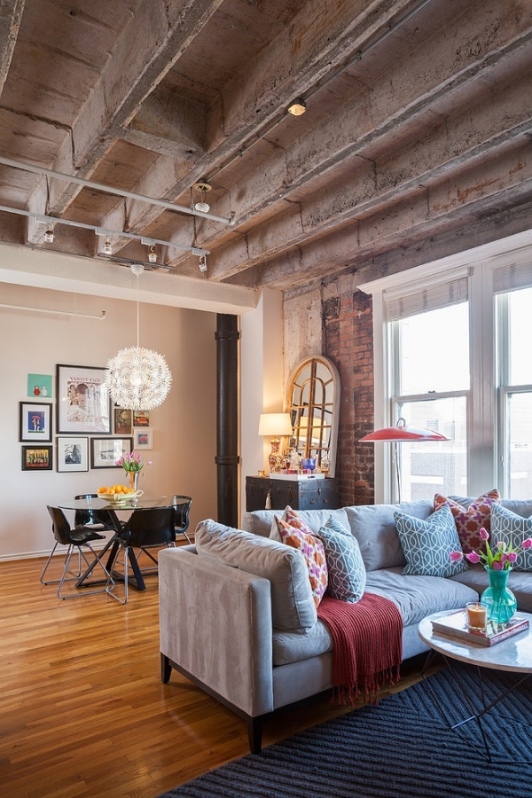 A Delicate Loft Interior Design Adorable Home