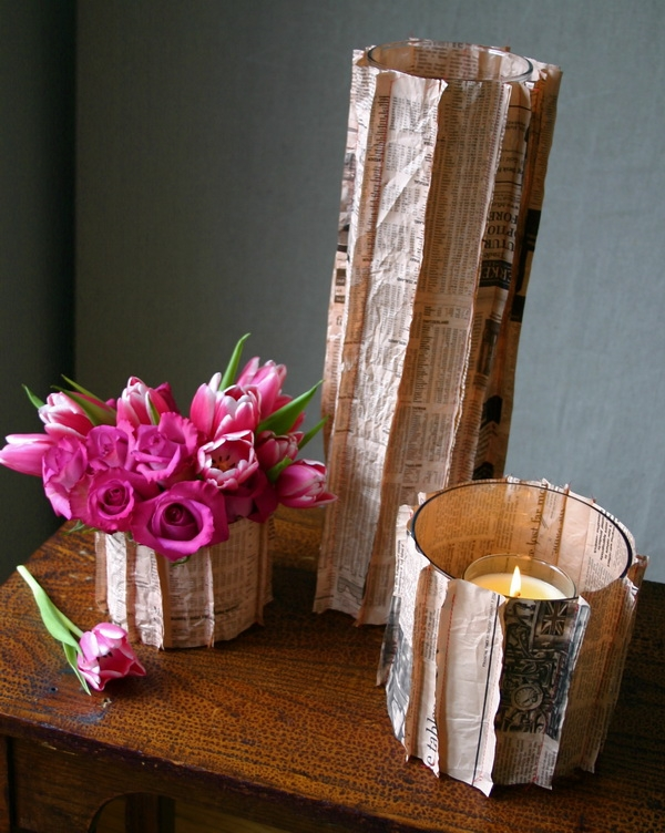 diy-newspaper-vase-8