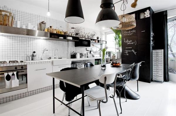 A favorite black and white interior design for Interior design room grid