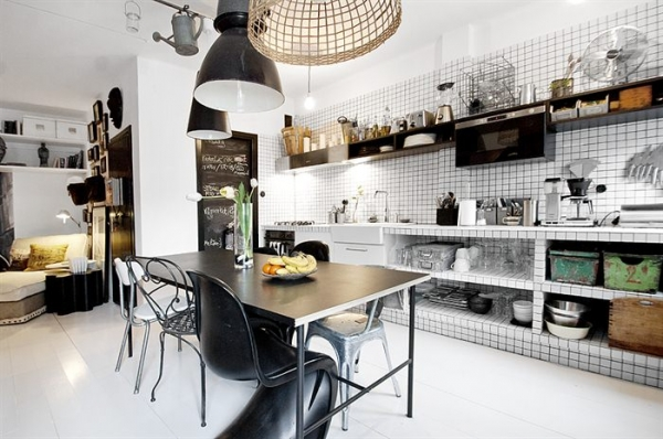 A Favorite Black And White Interior Design Adorable Home