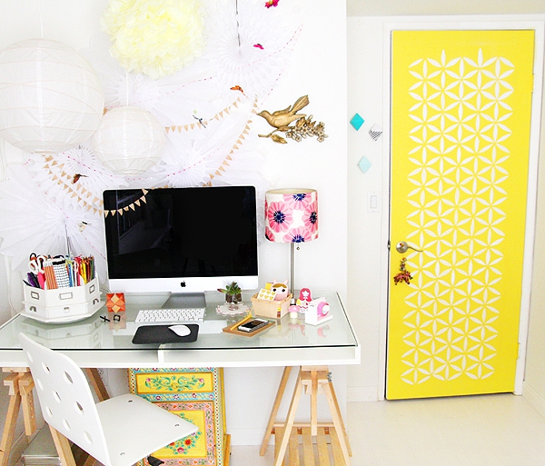 Sensational A Fun Home Office Design Adorable Home Largest Home Design Picture Inspirations Pitcheantrous
