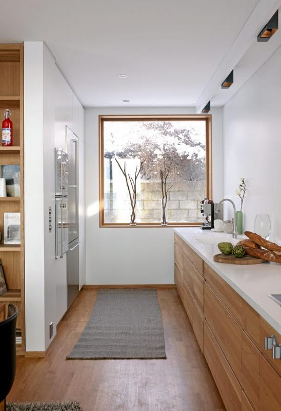 A Modern And Inviting Oak Kitchen Adorable Home