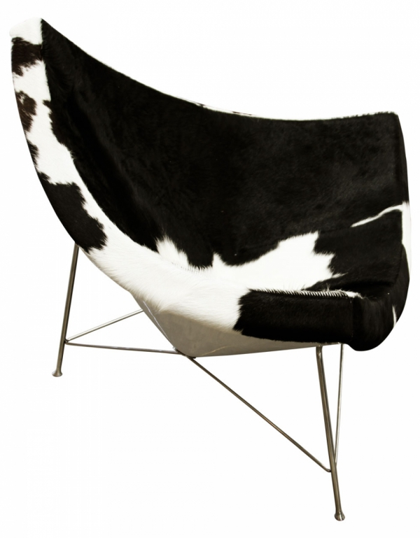 A modern armchair for the ages adorable home - Adorable iconic furniture design adapts black and white color ...