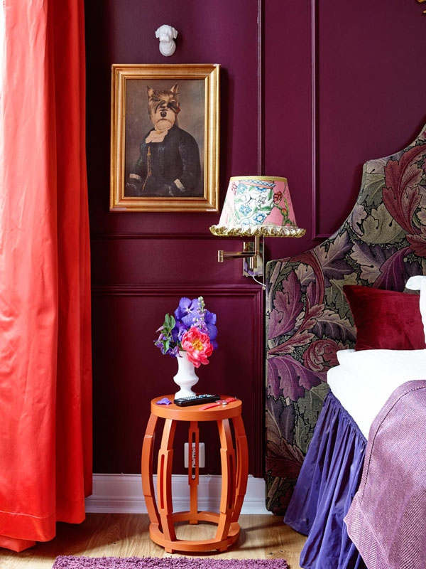 Lovely Purple And Red Living Room Nakicphotography Part 21