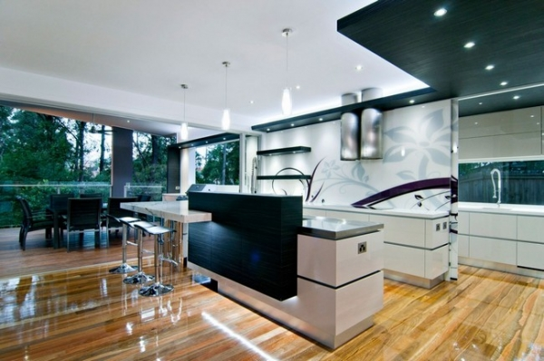 A Stylish Kitchen With Form And Function Adorable Home