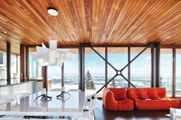spectacular mountain home Canada (3)