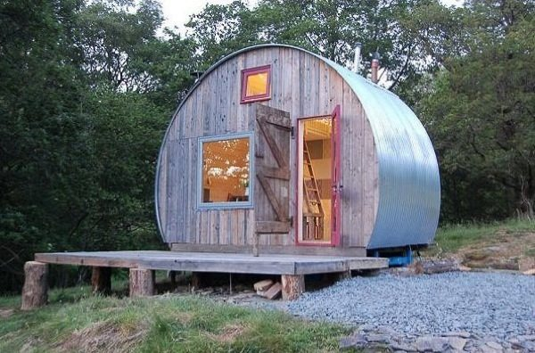 A triumph in tiny spaces cylindrical micro cabin (1)