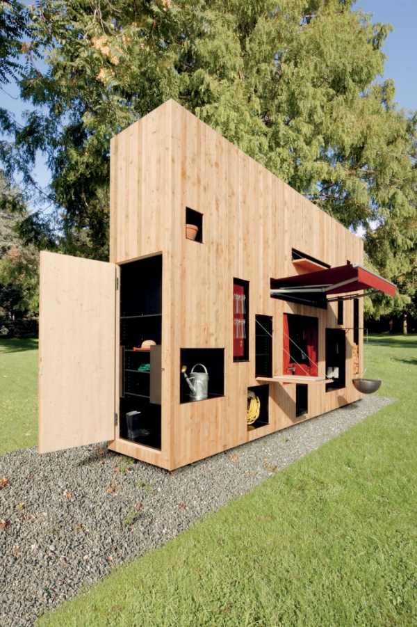 Plan from making a sheds february 2015 for Contemporary garden buildings