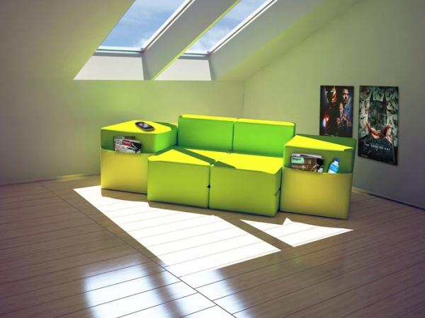 Adaptable modular furniture  (2)