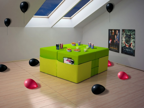 Adaptable modular furniture  (3)
