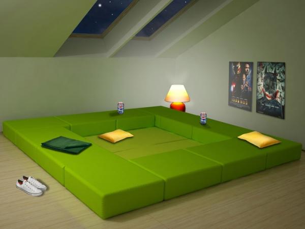 Adaptable modular furniture  (4)