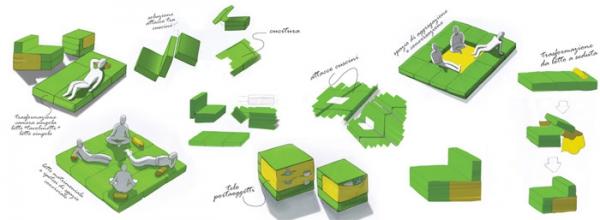 Adaptable modular furniture  (7)