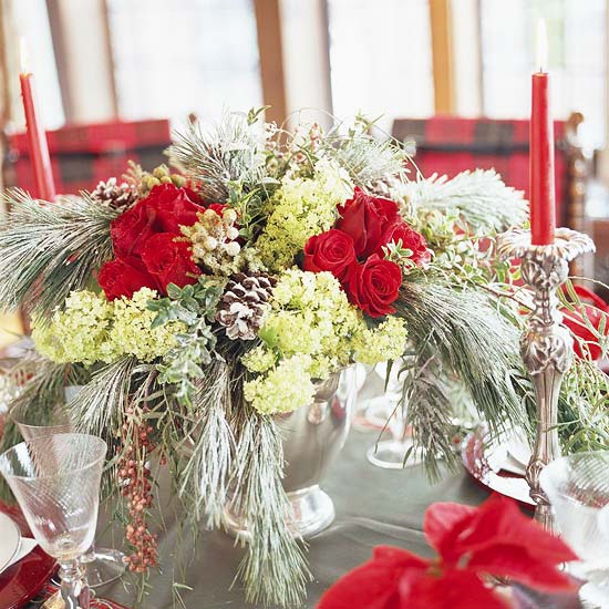 Add Flower Arrangements To Your Festive Decor