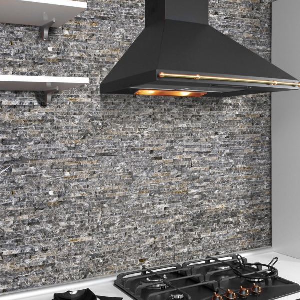 Kitchen Feature Wallpaper: Fashionable Wall Tiles For Your Kitchen