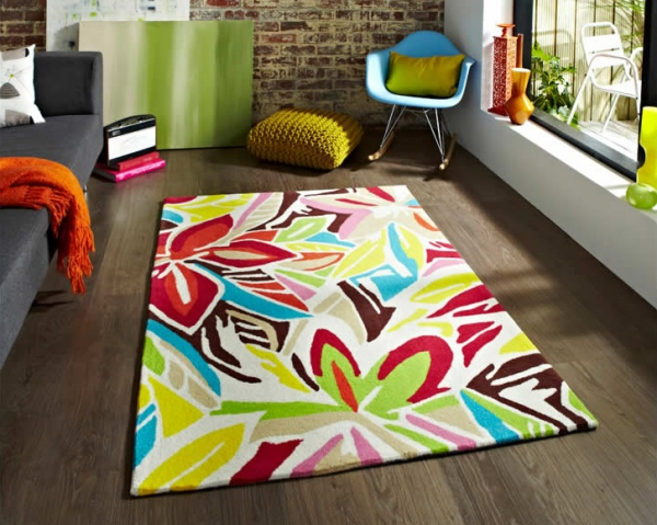 Adding a little extra to your interior with a fashionable rug 1