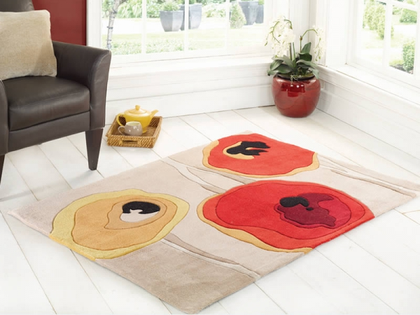 Adding a little extra to your interior with a fashionable rug 2
