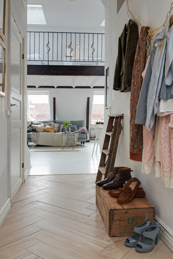 Adorable loft in Sweden (1)
