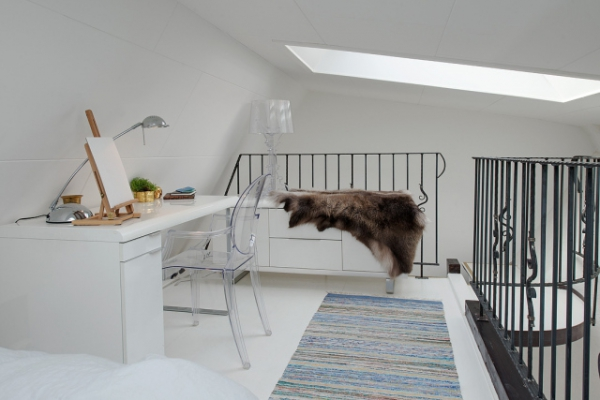 Adorable loft in Sweden (10)