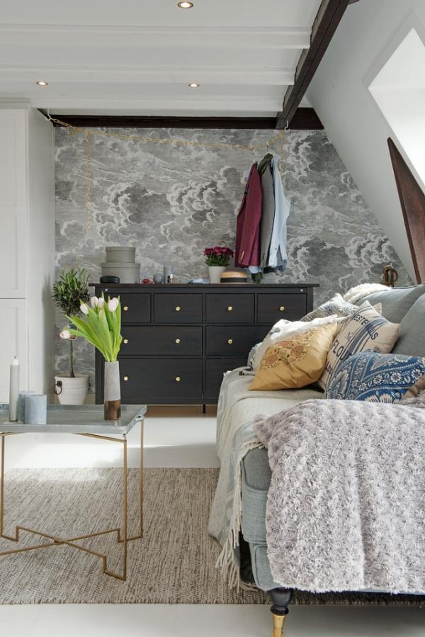Adorable loft in Sweden (6)