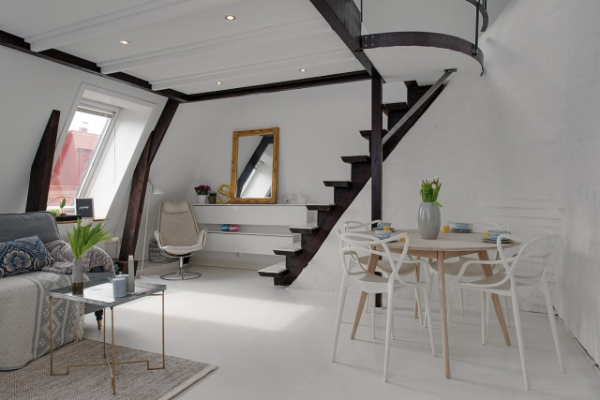 Adorable loft in Sweden (7)