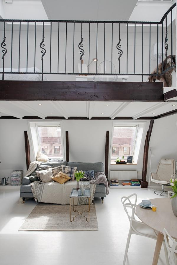 Adorable loft in Sweden (9)