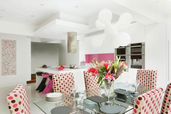 Adorable pink kitchenAdorable Home