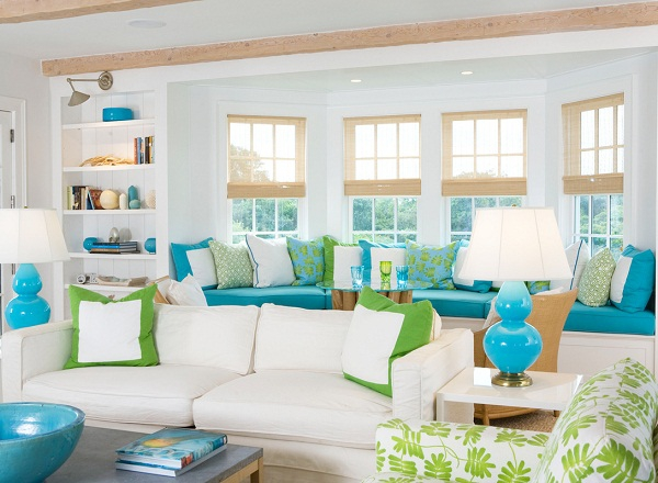 Adorable Summer Home Interiors By Lynn Morgan