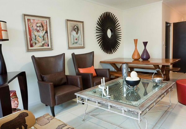 African Themed Living Rooms: Beauty and Style – Adorable Home
