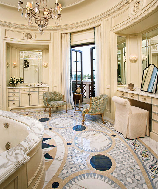 White Bathrooms Additionally Mosaic Tiles On Bathroom Designs Look At